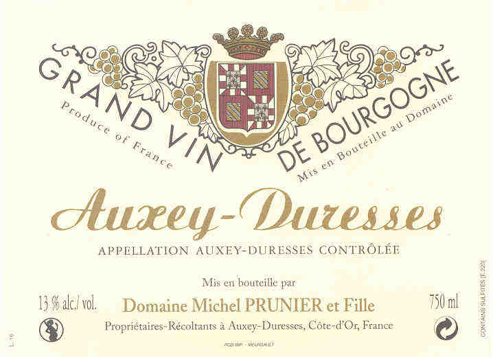 Michel Prunier Auxey-Duresses